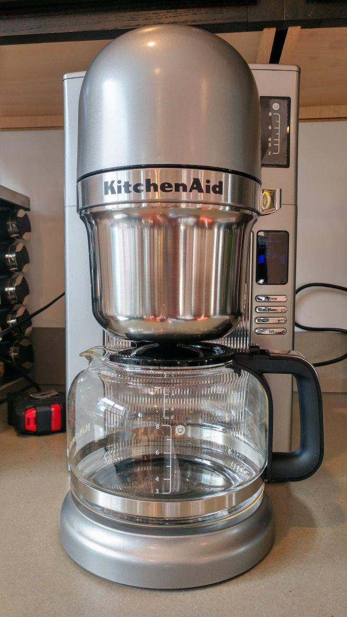 Kitchenaid Kcm0802 Review A Retro Future Coffeemaker